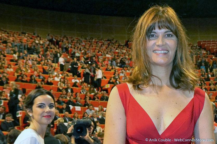 Arrivée de Marina Hands à la cérémonie de remise du Prix Lumière - Amphitheâtre 3000 - Lyon - Oct 2016  - Photo © Anik Couble