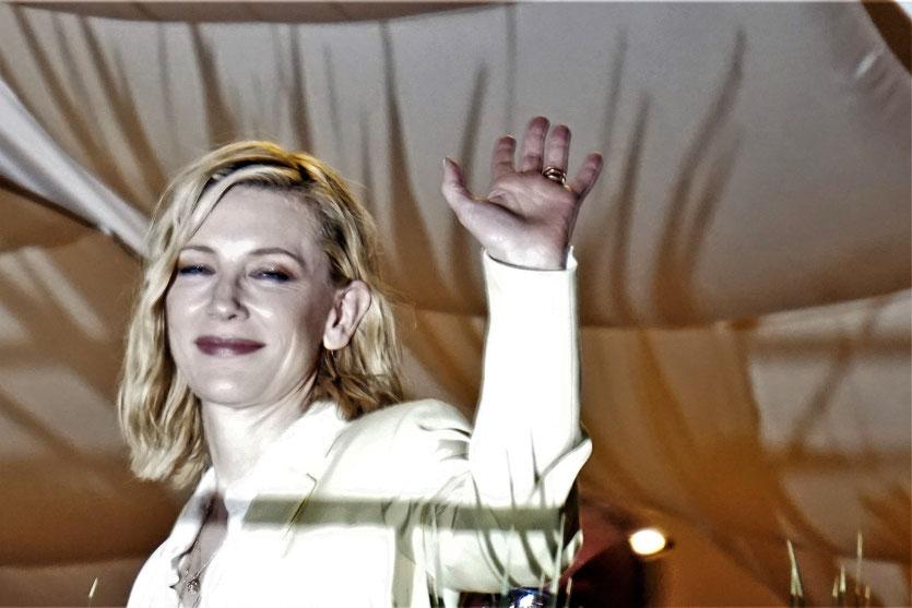 Cate Blanchett, sublime présidente du jury du Festival de Cannes 2018 - Photo © Anik Couble