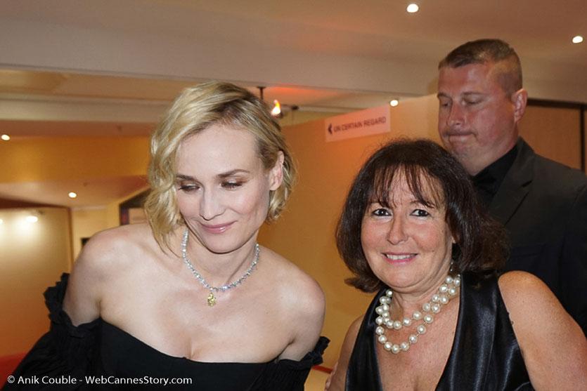 Ma rencontre avec Diane Kruger, Prix d'interprétation féminine - Festival de Cannes 2017 - Photo © Anik Couble