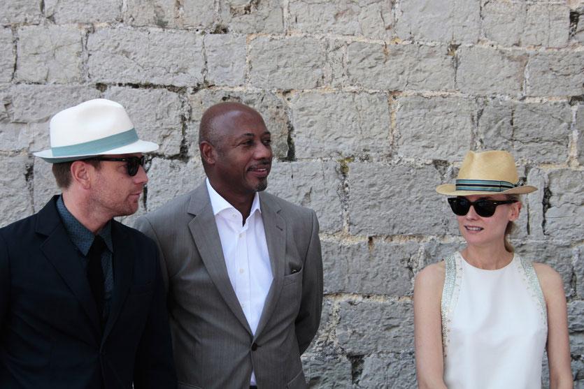 Ewan McGregor et Raoul Peck et  Diane Kruger, membres du Jury - Festival de Cannes 2012 - Photo © Anik COUBLE