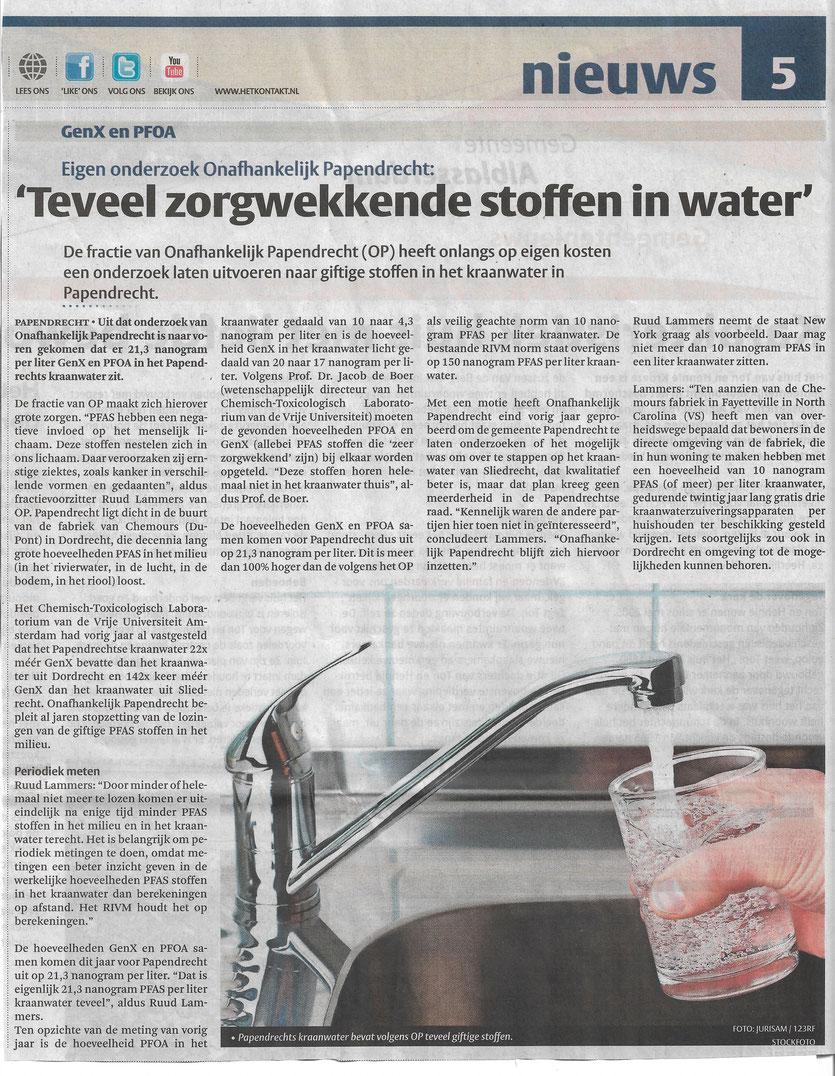 Artikel gepubliceerd in de Klaroen op woensdag 1 juli 2020