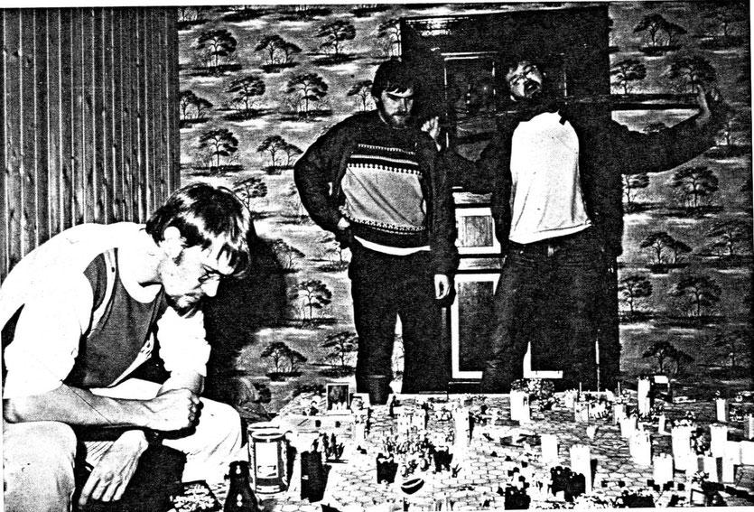 Ralf, Frank und Bogi 1984