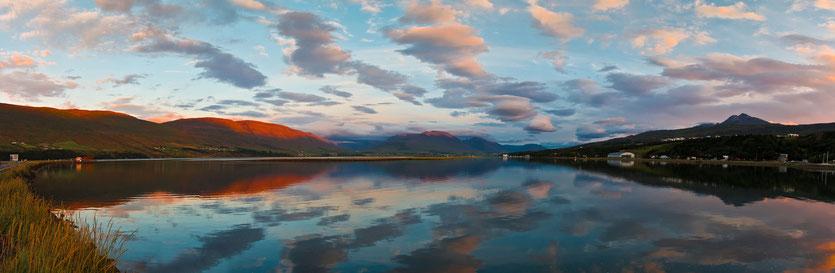 Akureyri in Island