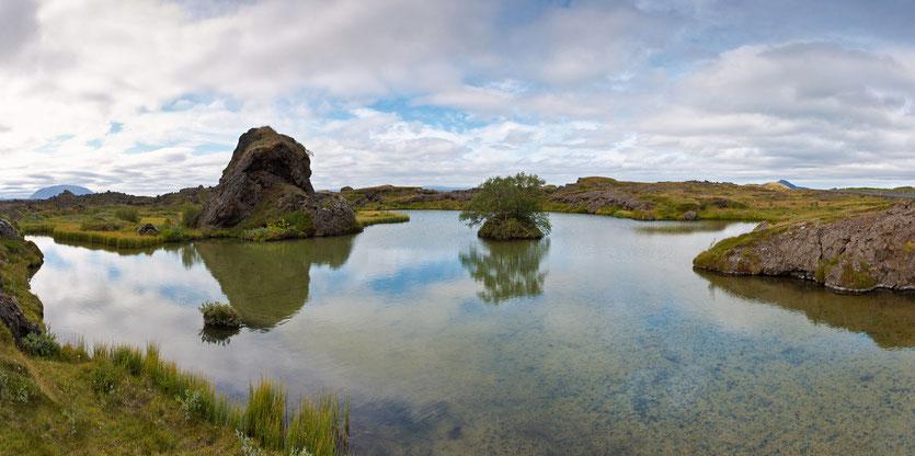 Mývatn Impression in Island