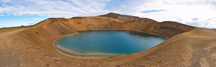 Stora Viti Krater in Island