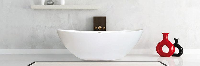 Freistehende Badewanne PERLATO