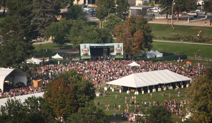 Panoramic view @Chipotle Cultivate Festival