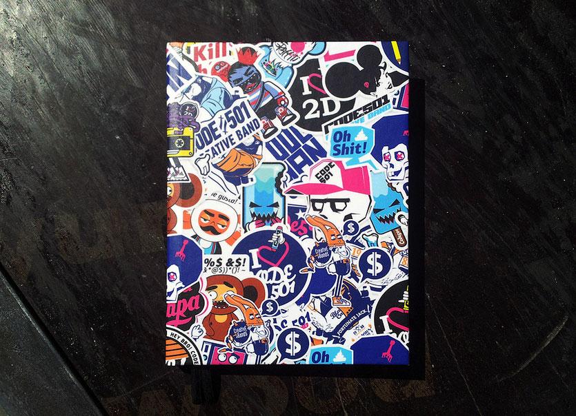 CODE501 | Sketchbook | 2013 designer: Sergey Ermakov, Olesya Poplavskaya illustrator: Sergey Ermakov