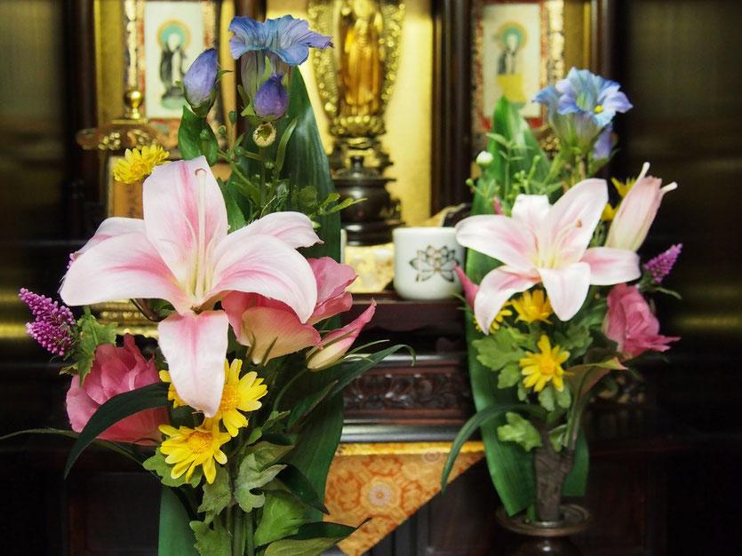 アートフラワー,仏花,スティックタイプ,お彼岸,お盆,お悔やみ,お供,シルクフラワー,造花