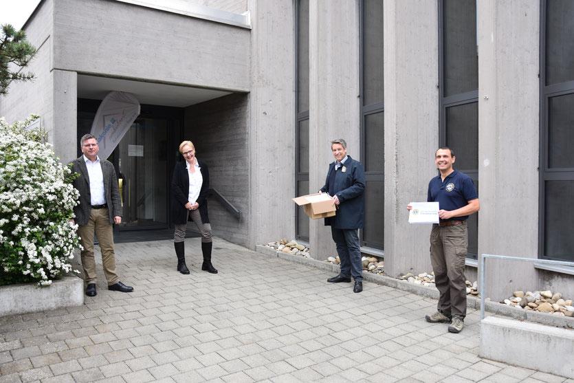 Übergabe an die Diakonie ambulant Schwarzwald-Baar e.V. Villingen-Schwenningen