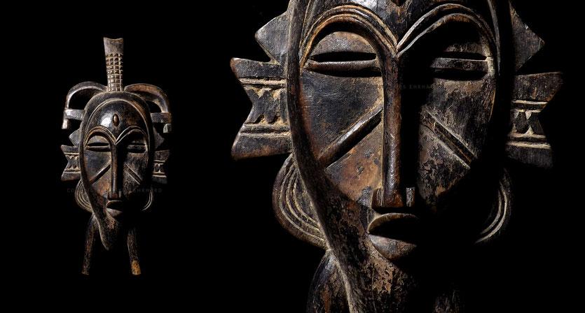 Senufo Kpelie mask Fossoungo Dagnogo