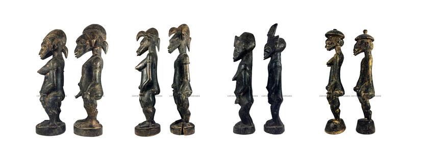 Senufo art Tugubele Sabariko Kone, Tchètin Bêh Konaté, Ponzié Coulibaly, Yalourga Soro