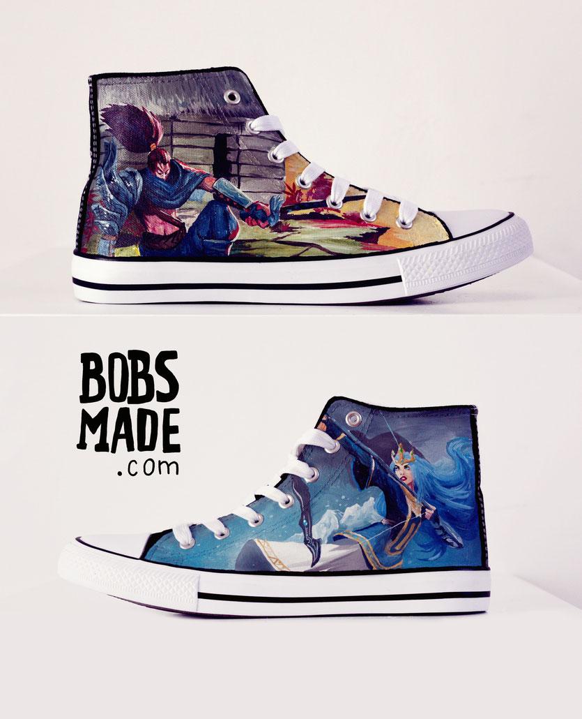 League Of Legends Shoes Art Custom Design