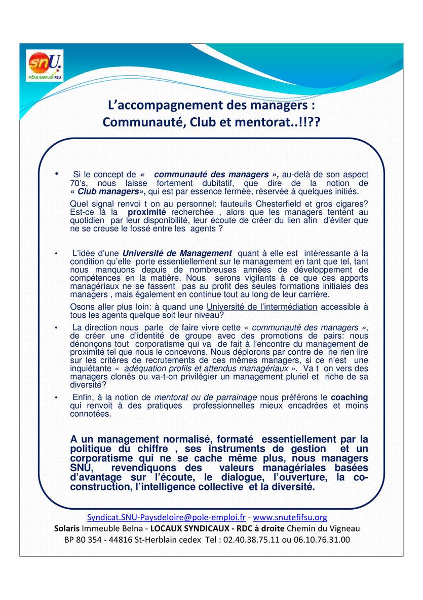 MALTRAITANCE DES CADRES MANAGERS VERSO