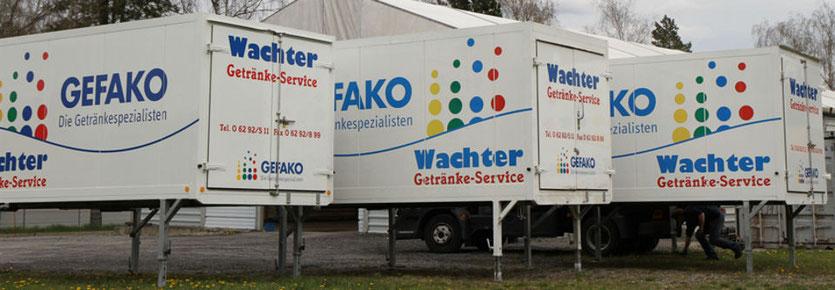 Kühlcontainer - Wachter Getränke-Service
