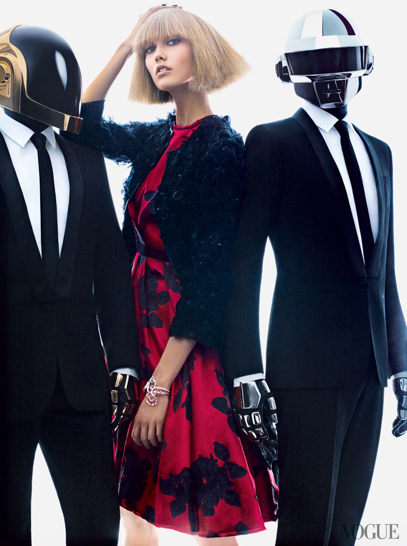 Karli Kloss & Daft Punk for Vogue´s newest Fashion Campaign