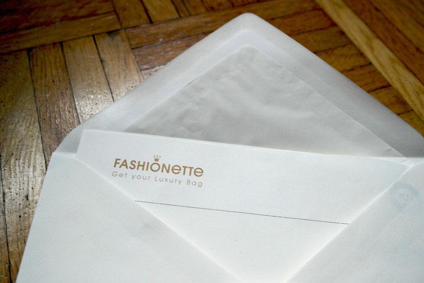 Fashionette Style Briefumschlag