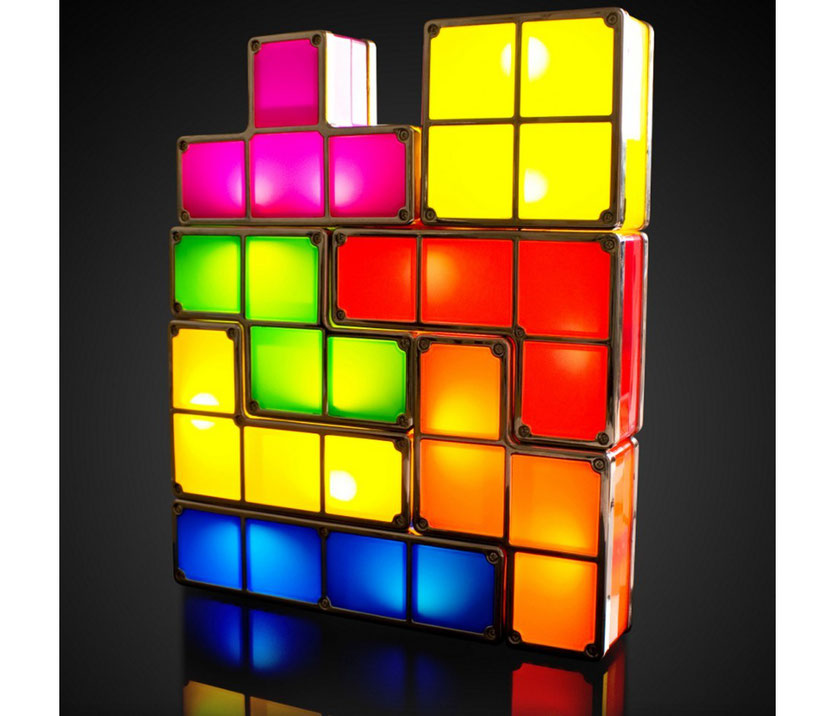 Tetris Lifestyle Lampe