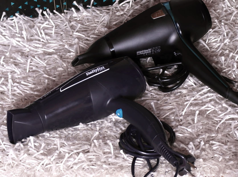 GHD Air Styler Saphir Jewel Collection | GHD Air Styler Sapphire im Vergleich mit dem BaByliss Expert 2100