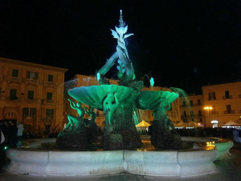 Fontana dei tritoni - Giovinazzo
