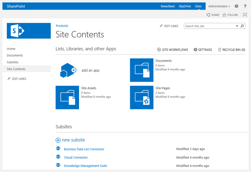 Fig.: SharePoint 2013 seems to offer a lot of new features. But will customers follow?