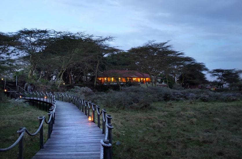 Hatari Lodge Arusha National park
