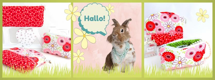 Kosmetik- und Schmuck-Täschchen für Frühlingsliebhaber