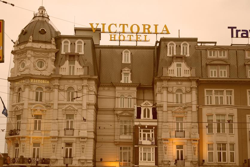 Das Victoria Hotel im Herzen Amsterdams