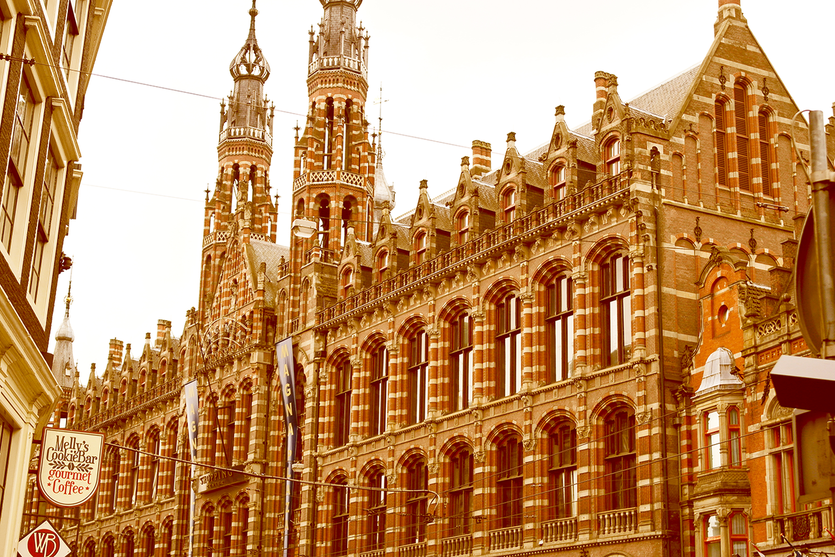 Magna Plaza Shoppingcenter in Amsterdam