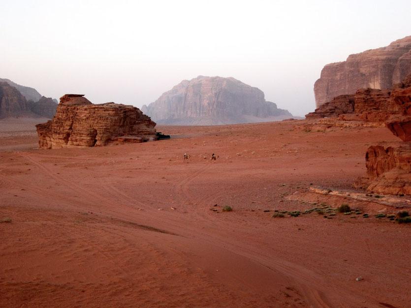 Im Wadi Rum Jordanien