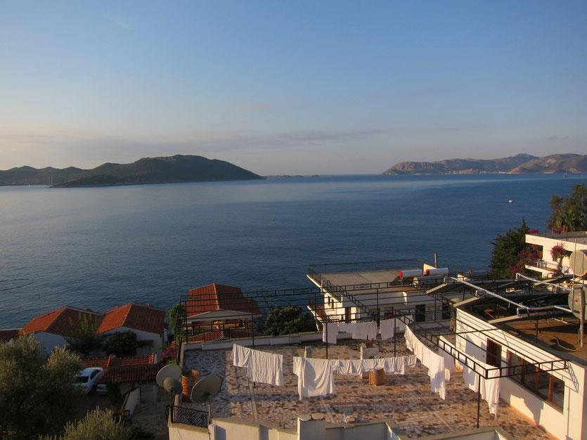 Idyllisches Kas am Meer, Lykische Küste Türkei