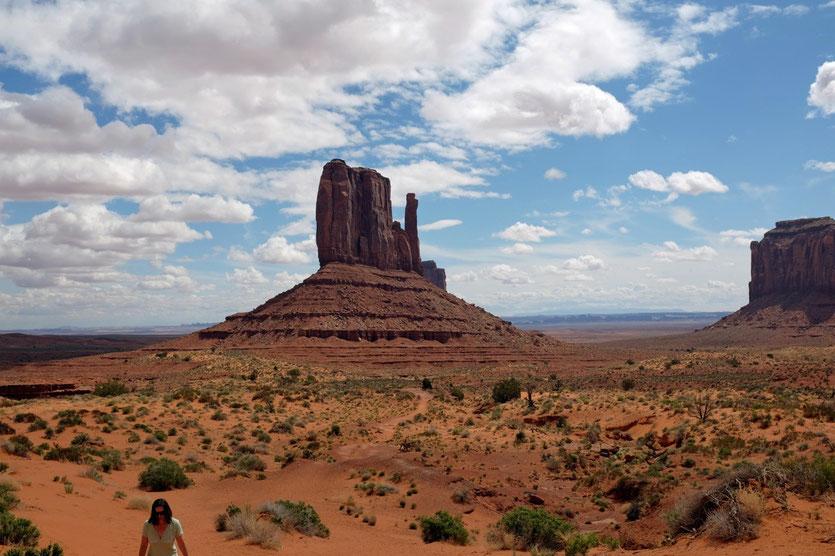 Wildcat Trail Monument Valley Wanderung um den West Mitten Butte