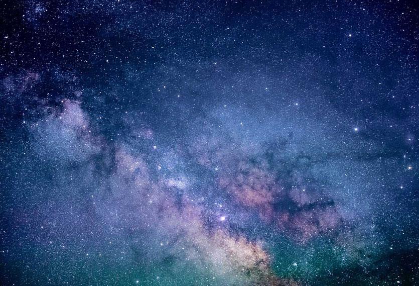 Sternenhimmel Milchstraße  in Namibia