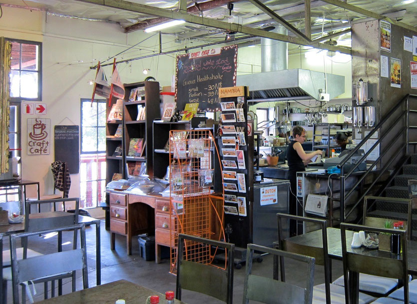 Namibia Craft Cafe Windhoek