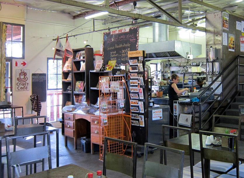 Namibia Shopping Tipp Craft Cafe Windhoek