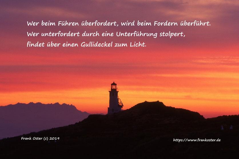 Von Führen und Fordern, Frank Oster Autor, Blog
