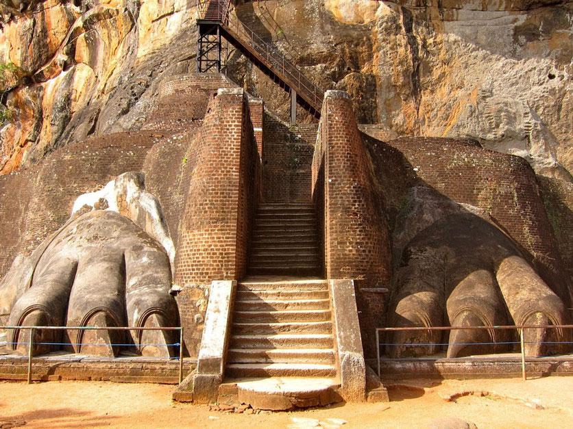 Sigiriya UNESCO Lions Rock Sri Lanka