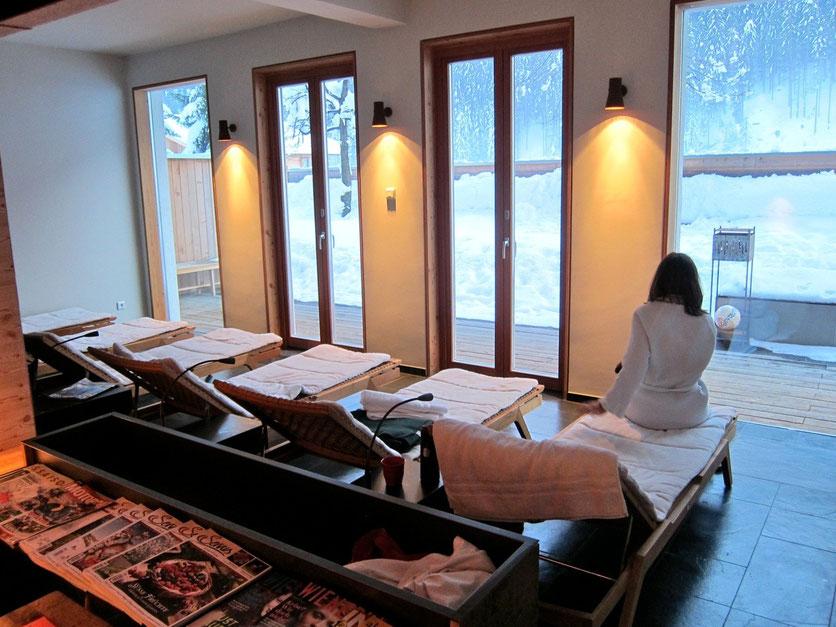 Sauna Ferienpension Senfter, Innervillgraten, Villgratental, Osttirol