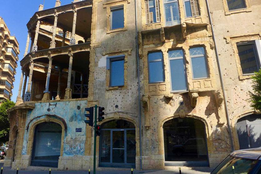 Beit Beirut Stadtmuseum Bürgerkriegsmuseum Beirut