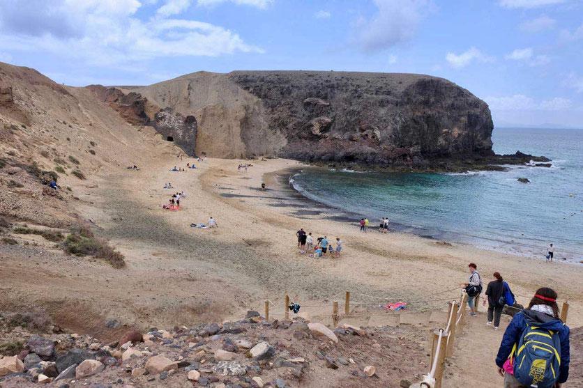Playa de Papagayo Strand Lanzarote