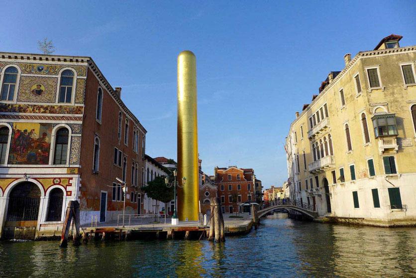 Venedig Kunst Biennale Canal Grande
