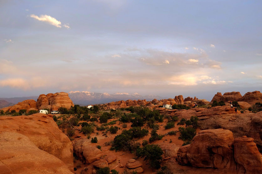 Devils Garden Campground Arches National Park USA Südwesten