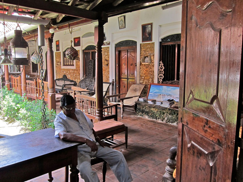 Museum Historical Mansion in Galle Sri Lanka
