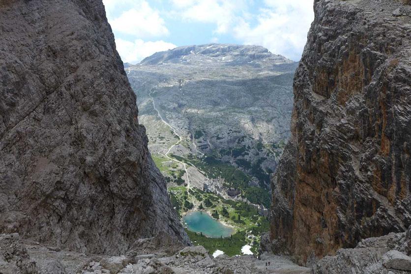 Dolomiten Höhenweg 1 Forcella del Lage – Alpe Lagazuoi