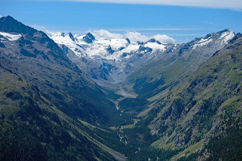 Val Roseg, Pontresina, Schweiz