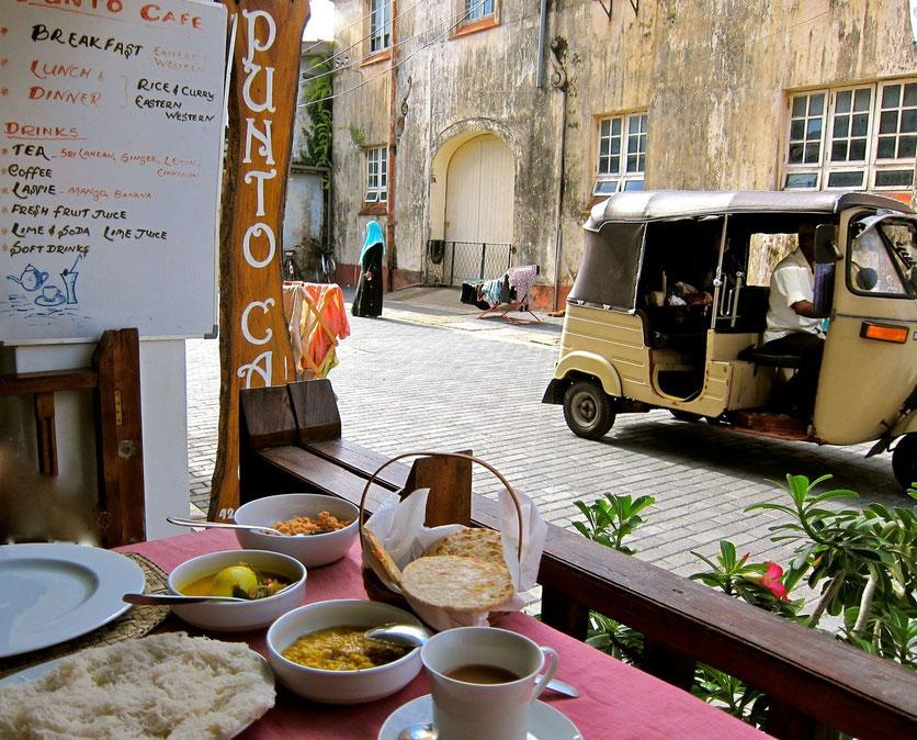 Breakfast Cafe Punto Galle Sri Lanka