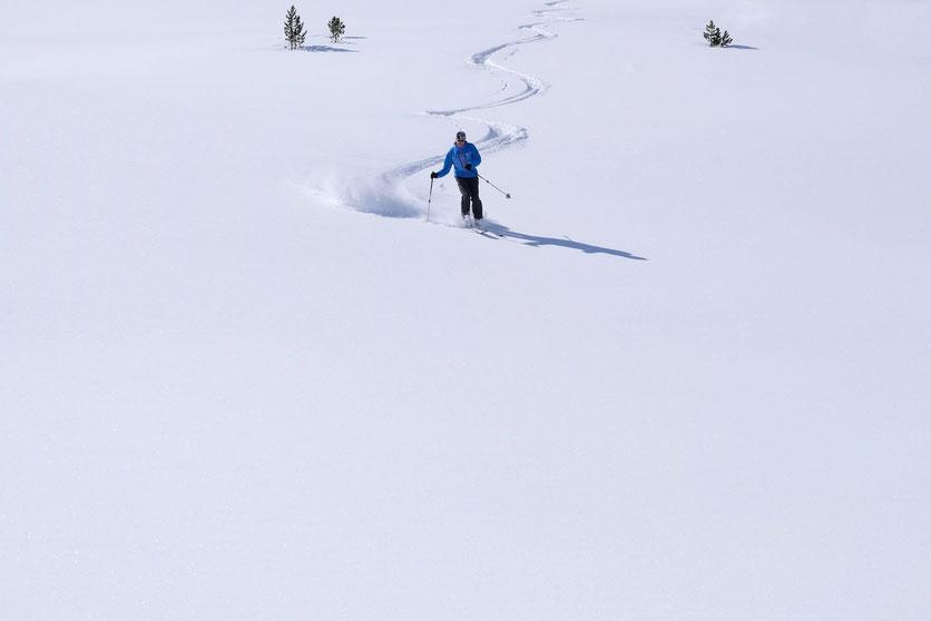 Engadin, St. Moritz, Diavolezza Skigebiet
