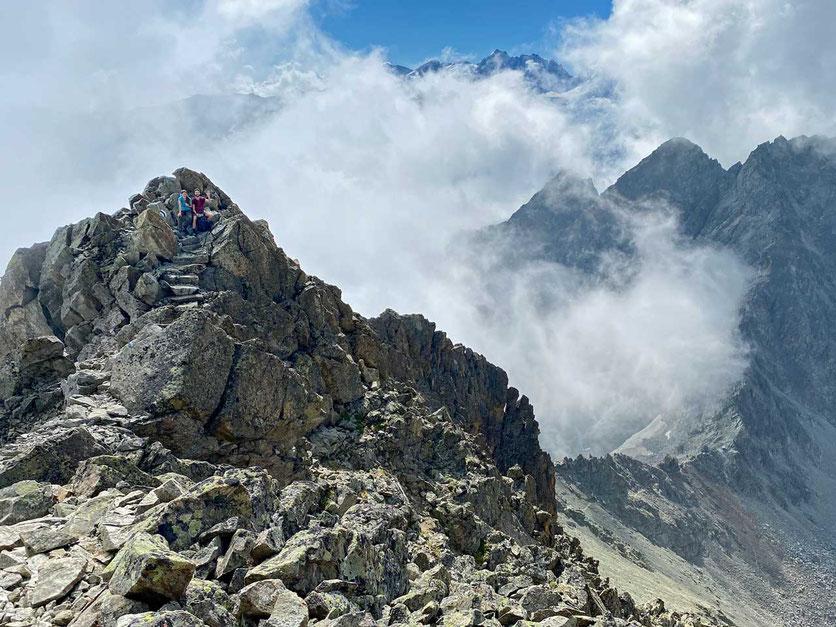 Gipfelgrat Piz Julier