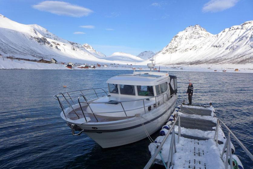 Lyngen Alps - Skitouren per Boot