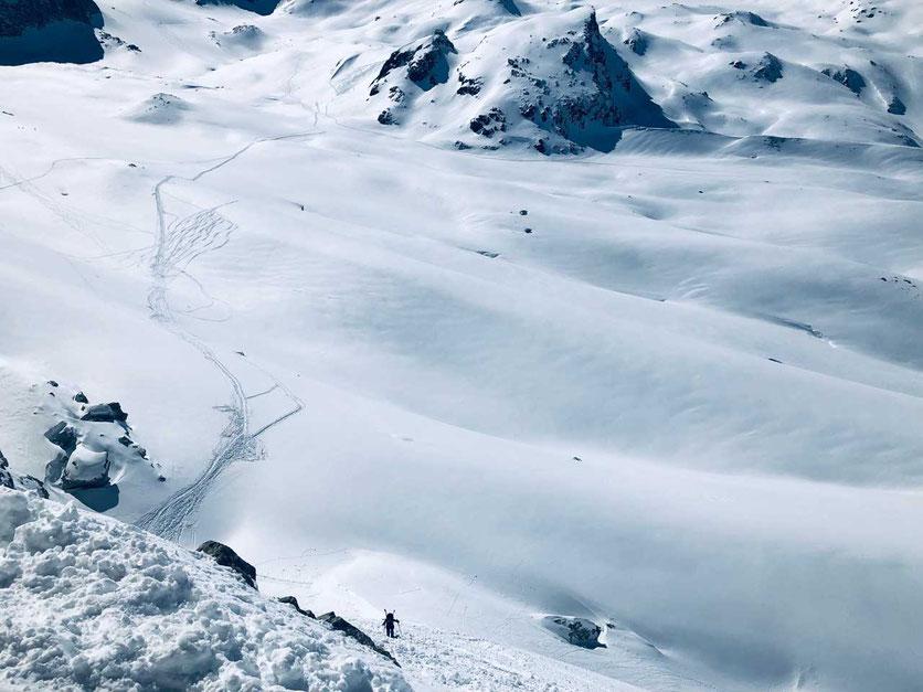 Haute Route - Glacier du Cheilon